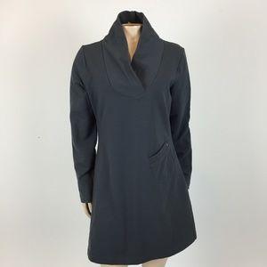 Lole Calm Shawl Collar Women's Dress Tunic L W4-11